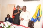 Les responsables de la communauté burkinabè du Gabon  souhaitent la bienvenue à l'Ambassadeur Saïdou ZONGO
