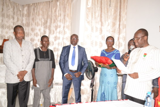 Session d'information et Cérémonie de décoration à l'Ambassade du Burkina Faso au Gabon