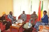 Visite de la délégation du Forum Africain des Femmes Leaders (FAFEL) à l'Ambassade