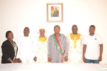 GANSENE Maria et BARA Soumaïla officialisent leur union à l'Ambassade du Burkina Faso à Libreville
