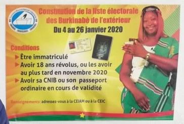 Elections 2020 – Les Burkinabè du Gabon se font enrôlés