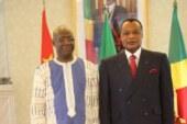 Diplomatie : Présentation des Lettres de créance de L'Ambassadeur au Président du Congo