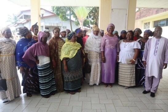 Visite de Madame Sika Adjoavi KABORE, Première Dame du Faso, à Libreville