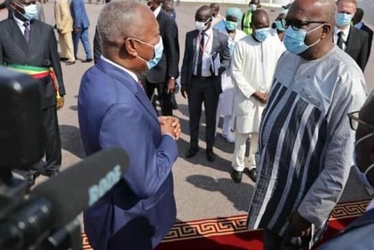 Participation de S.E.M Roch Marc Christian KABORE, Président du Faso à la cérémonie d'investiture du S.E.M Denis SASSOU NGUESSO, Président réélu de la République du Congo