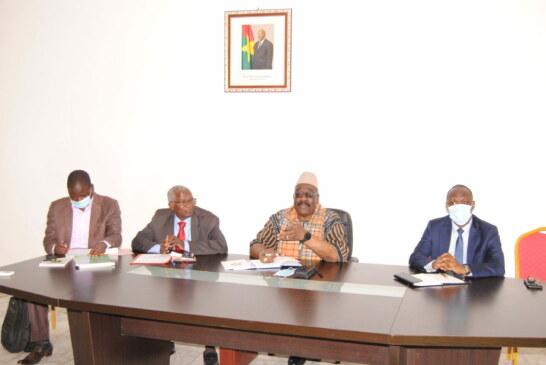 Séjour à Libreville d'une délégation du Conseil Constitutionnel du Burkina Faso